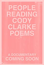 People Reading Cody Clarke Poems Poster
