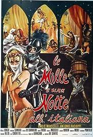Le mille e una notte all'italiana Poster