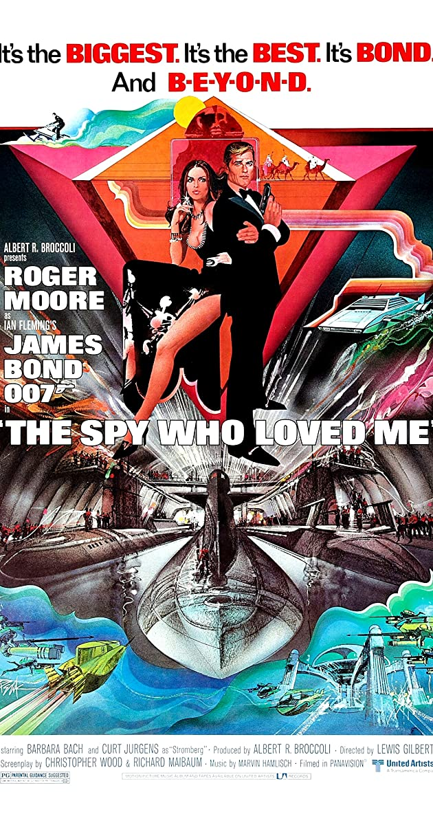Subtitle of The Spy Who Loved Me
