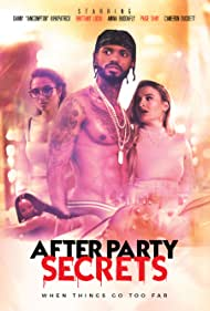 Cameron Duckett, Danny Kirkpatrick, Brittany Lucio, and Paige Shay in After Party Secrets (2021)