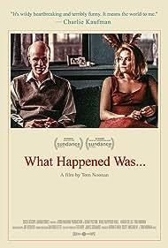 Tom Noonan and Karen Sillas in What Happened Was... (1994)