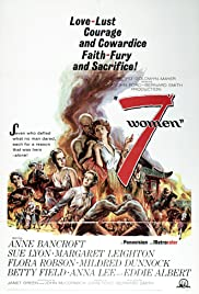 7 Women(1966) Poster - Movie Forum, Cast, Reviews