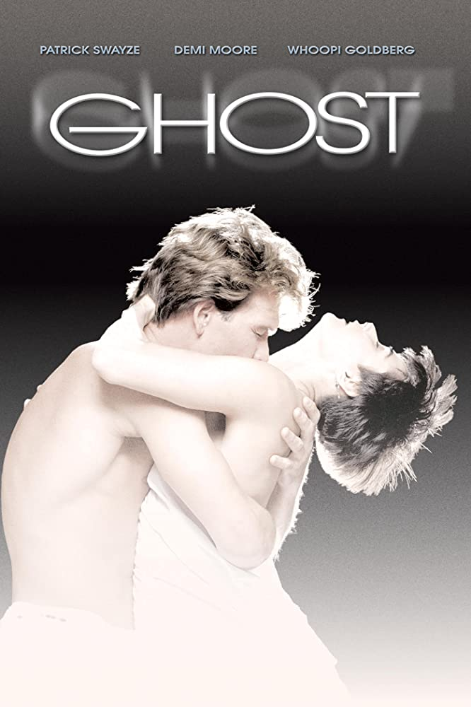 Demi Moore and Patrick Swayze in Ghost (1990)