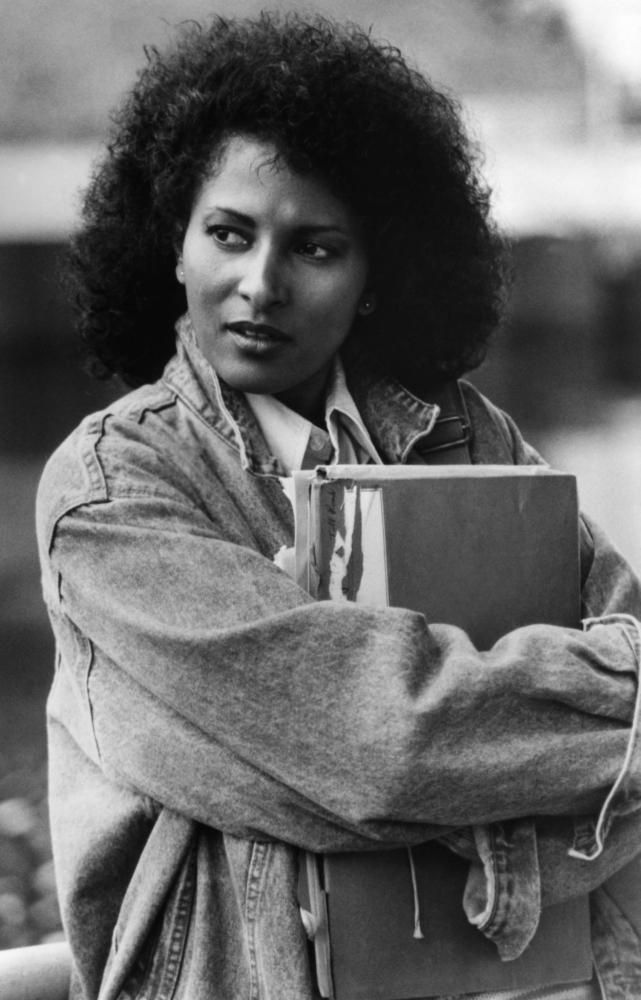 Pam Grier in Above the Law (1988)