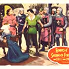 John Derek, Alan Hale, and Diana Lynn in Rogues of Sherwood Forest (1950)