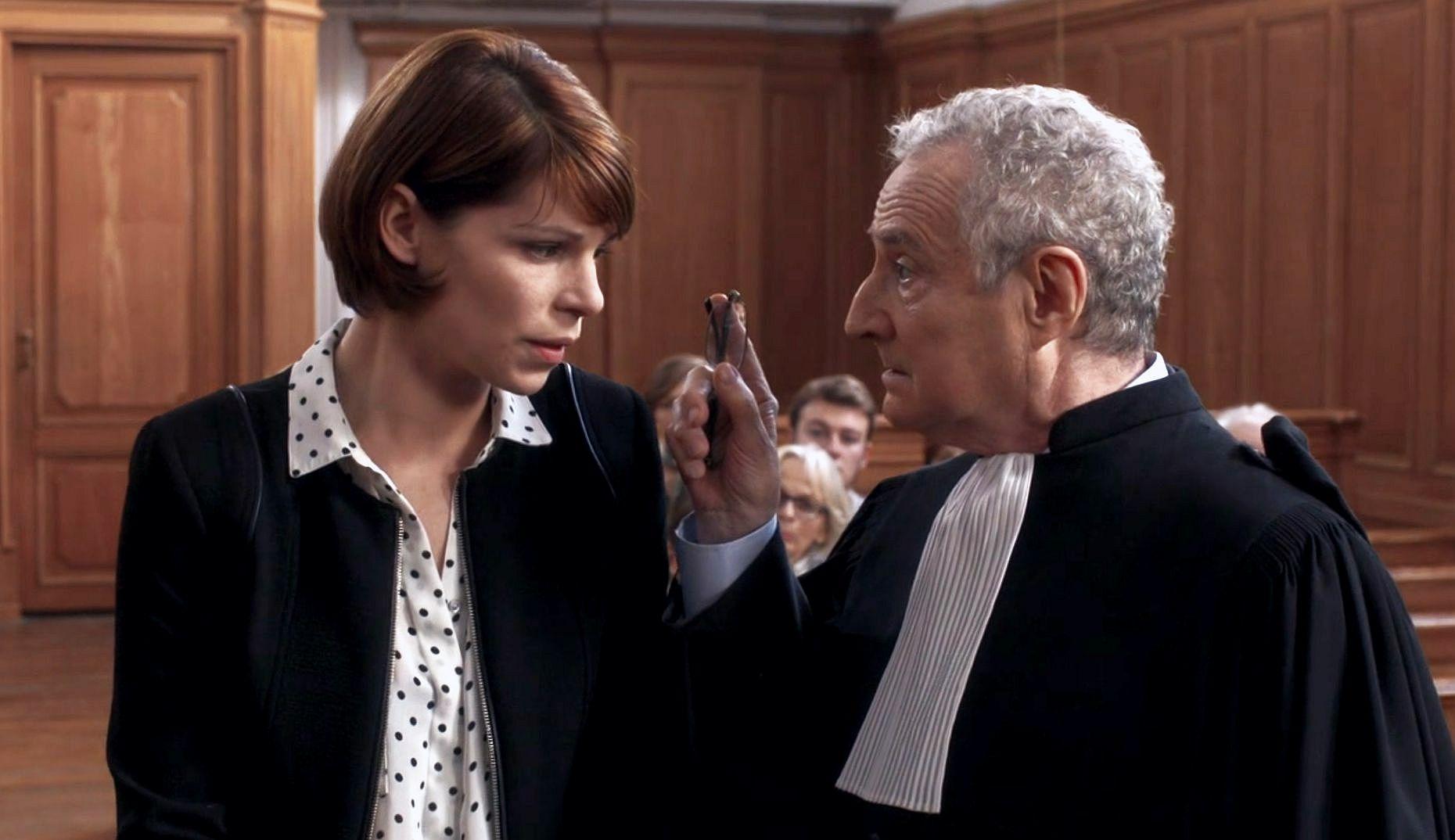 Amandine Chauveau and Daniel Prévost in La loi de... (2014)