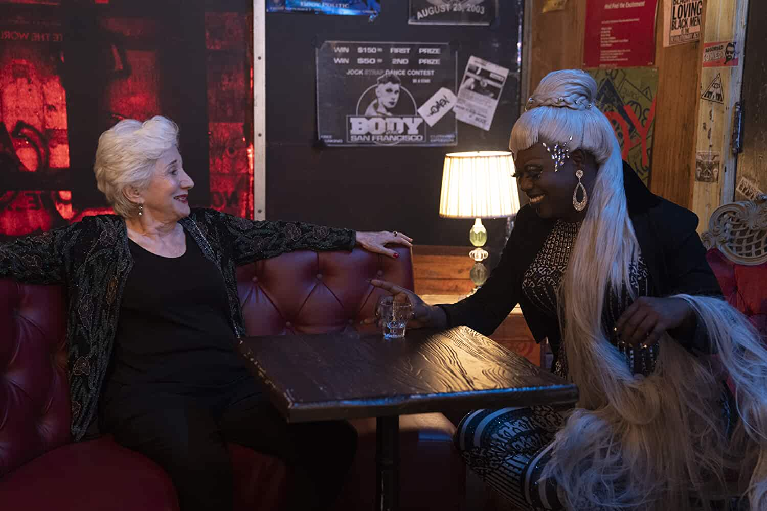 Olympia Dukakis and Caldwell Tidicue in Tales of the City (2019)