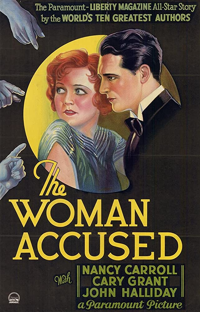 Cary Grant and Nancy Carroll in The Woman Accused (1933)