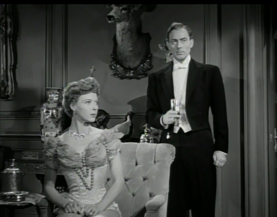 Phyllis Stanley and Michael Wilding in The Law and the Lady (1951)