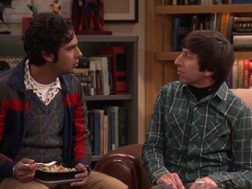 Simon Helberg and Kunal Nayyar in The Big Bang Theory (2007)