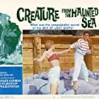 Antony Carbone and Betsy Jones-Moreland in Creature from the Haunted Sea (1961)