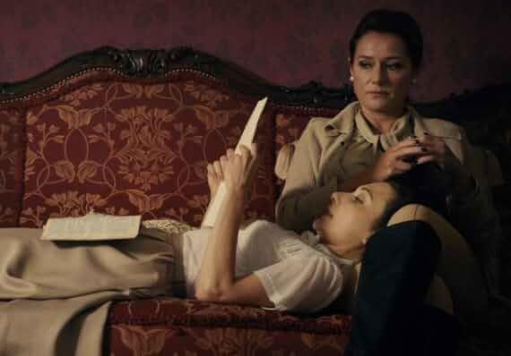 Sidse Babett Knudsen and Chiara D'Anna in The Duke of Burgundy (2014)