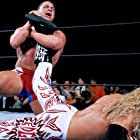 Kurt Angle and Adam Copeland in King of the Ring (2001)