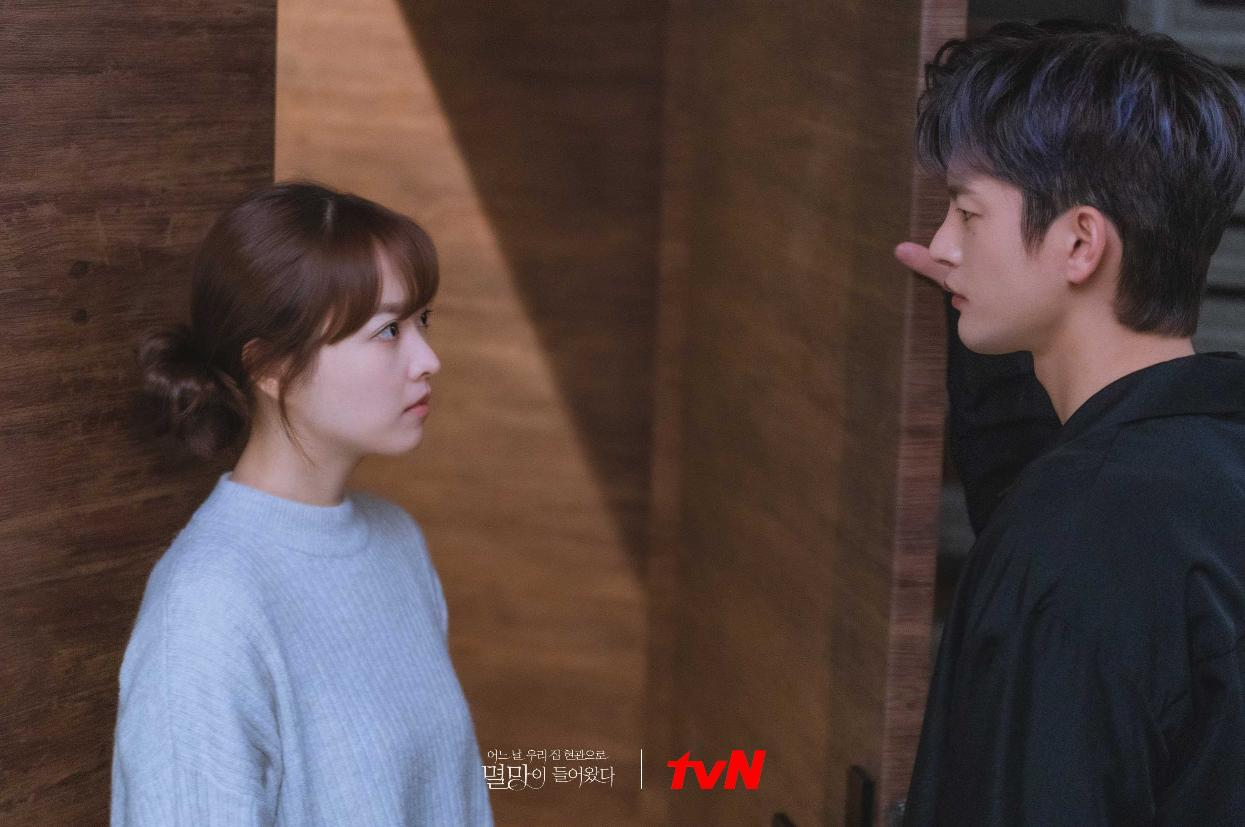 Park Bo-Young and Seo In-Guk in Doom at Your Service (2021)