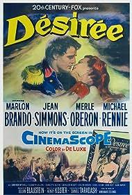 Marlon Brando and Jean Simmons in Désirée (1954)