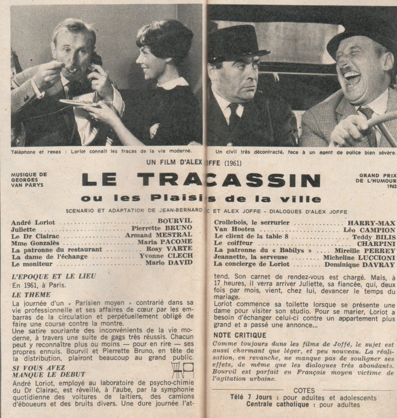 le tracassin