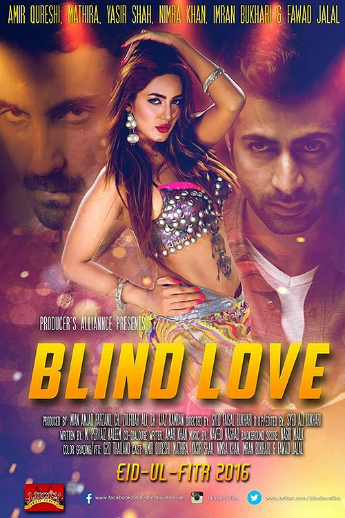 Blind Love (2016) Pakistani Movie 720p HDRip 1.3GB