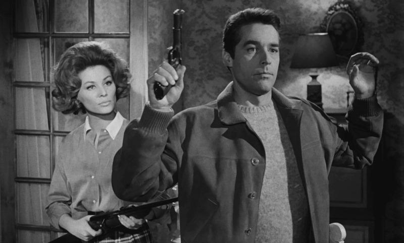Irina Demick and Kerwin Mathews in OSS 117 se déchaîne (1963)
