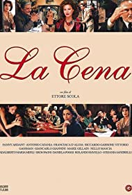 Fanny Ardant, Vittorio Gassman, Giancarlo Giannini, and Stefania Sandrelli in La cena (1998)