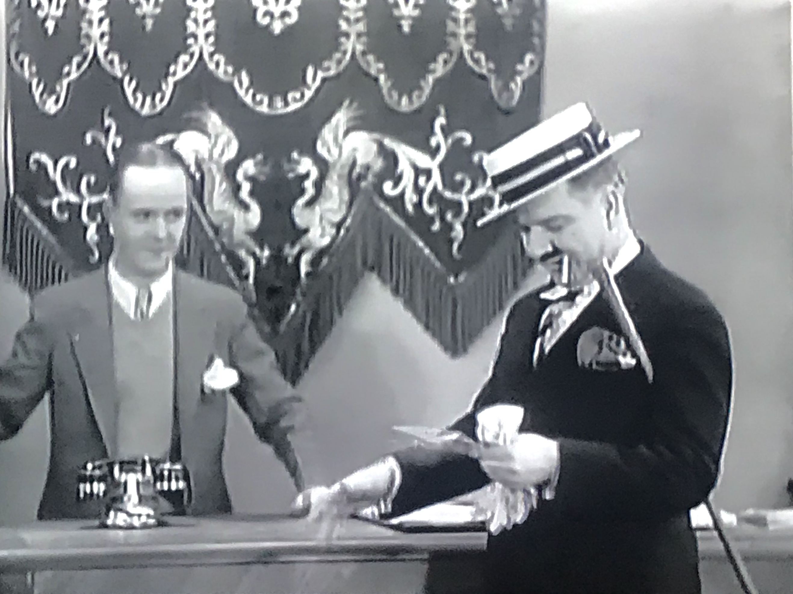 W.C. Fields and Johnny Kane in The Golf Specialist (1930)
