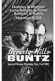 Dennis Franz and Peter Jurasik in Beverly Hills Buntz (1987)