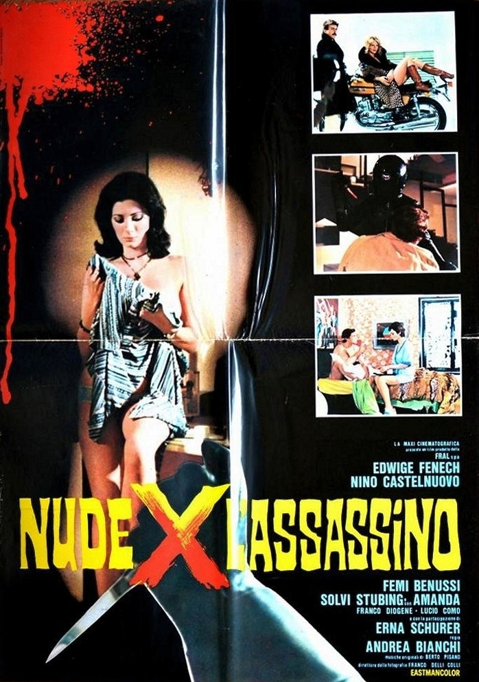 Nino Castelnuovo, Edwige Fenech, Erna Schurer, and Solvi Stubing in Nude per l'assassino (1975)
