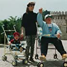Mickey Rooney and Angie Gray in La vida láctea (1993)