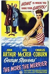 Jean Arthur, Charles Coburn, and Joel McCrea in The More the Merrier (1943)
