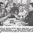 Philip Ahn, Ann Dvorak, and Richard Loo in I Was an American Spy (1951)