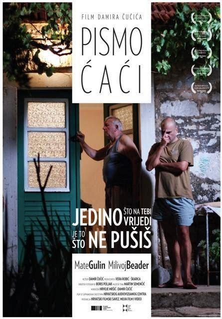 Mate Gulin and Milivoj Beader in Pismo caci (2012)
