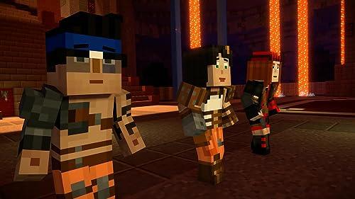 Minecraft: Story Mode: Season 2: Episode 4: Below The Bedrock