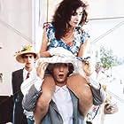 Roberto Benigni, Nicoletta Braschi, and John Lurie in Il piccolo diavolo (1988)