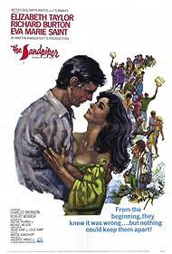 Richard Burton and Elizabeth Taylor in The Sandpiper (1965)