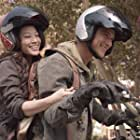 Tyler Posey and Arden Cho in Teen Wolf (2011)