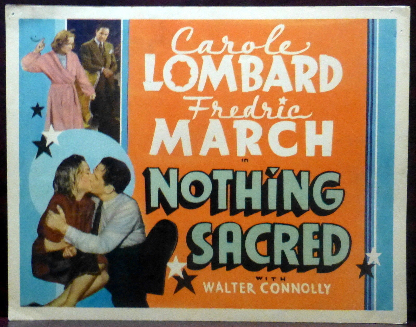 Image result for Nothing Sacred 1937 poster