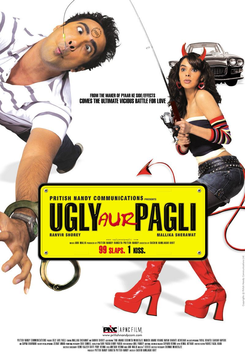 Ugly Aur Pagli (2008) Hindi 480p |  720p HDRip 400MB | 1GB Download