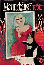 Mannekäng i rött Poster