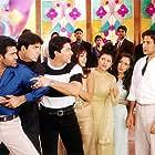 Aftab Shivdasani, Akshay Kumar, Sonu Nigam, and Suniel Shetty in Jaani Dushman: Ek Anokhi Kahani (2002)