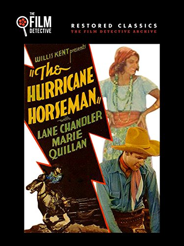 Lane Chandler and Marie Quillan in The Hurricane Horseman (1931)