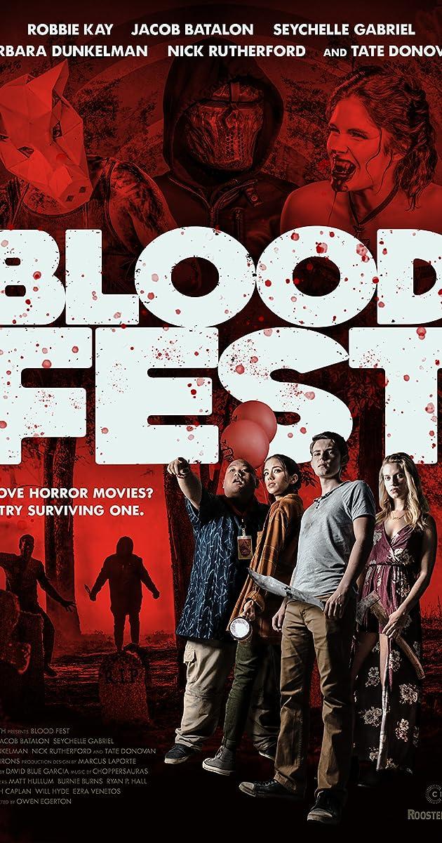 Subtitle of Blood Fest