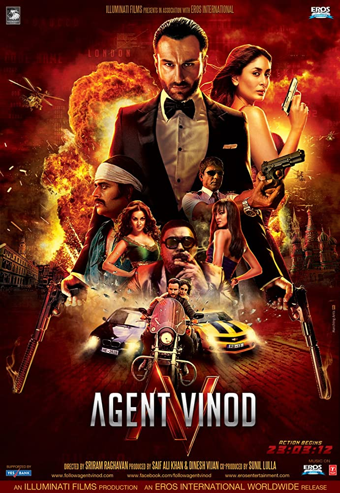 Agent Vinod 2012 Hindi Movie JC WebRip 400mb 480p 1.3GB 720p 4GB 10GB 13GB 1080p