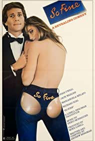 Mariangela Melato and Ryan O'Neal in So Fine (1981)