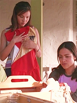 Camille Guaty and Suilma Rodriguez in Gotta Kick It Up! (2002)