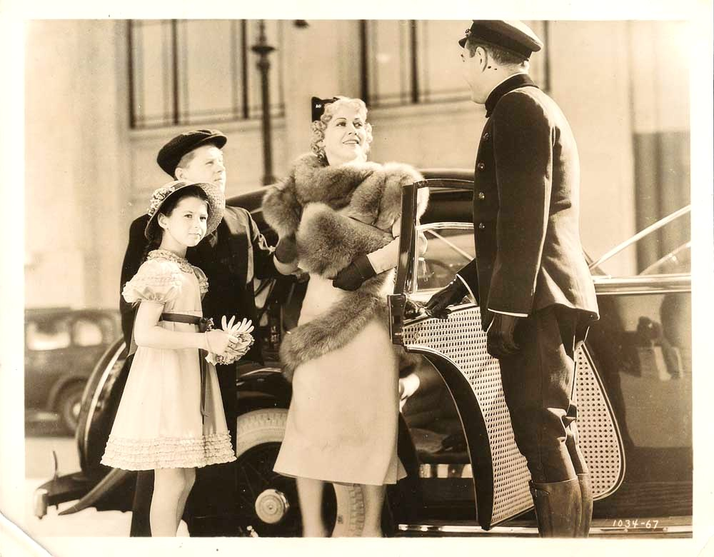 Mickey Rooney, Gladys George, Leyland Hodgson, and Virginia Weidler in Love Is a Headache (1938)