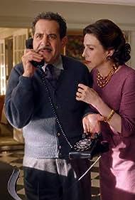 Tony Shalhoub and Marin Hinkle in The Marvelous Mrs. Maisel (2017)