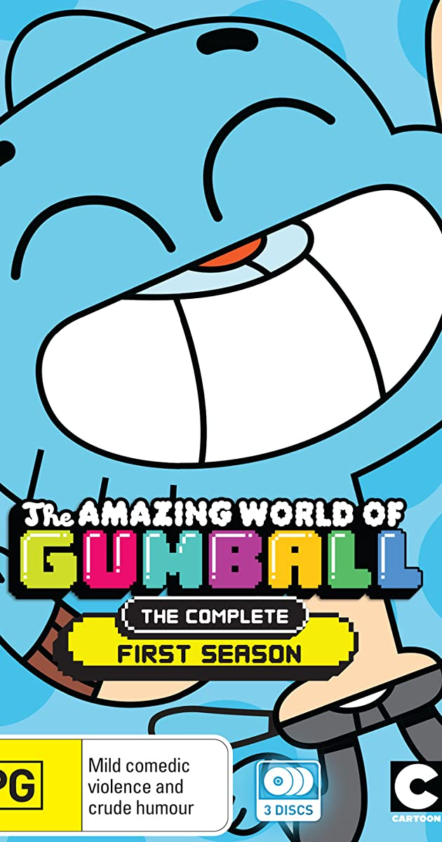 the amazing world of gumball the cringe part 1