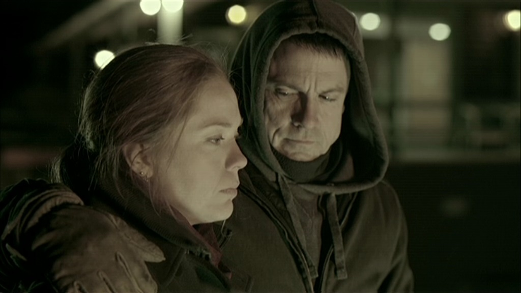 Catherine Bérubé and Claude Legault in 19-2 (2011)
