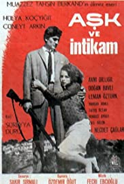 Ask ve intikam Poster