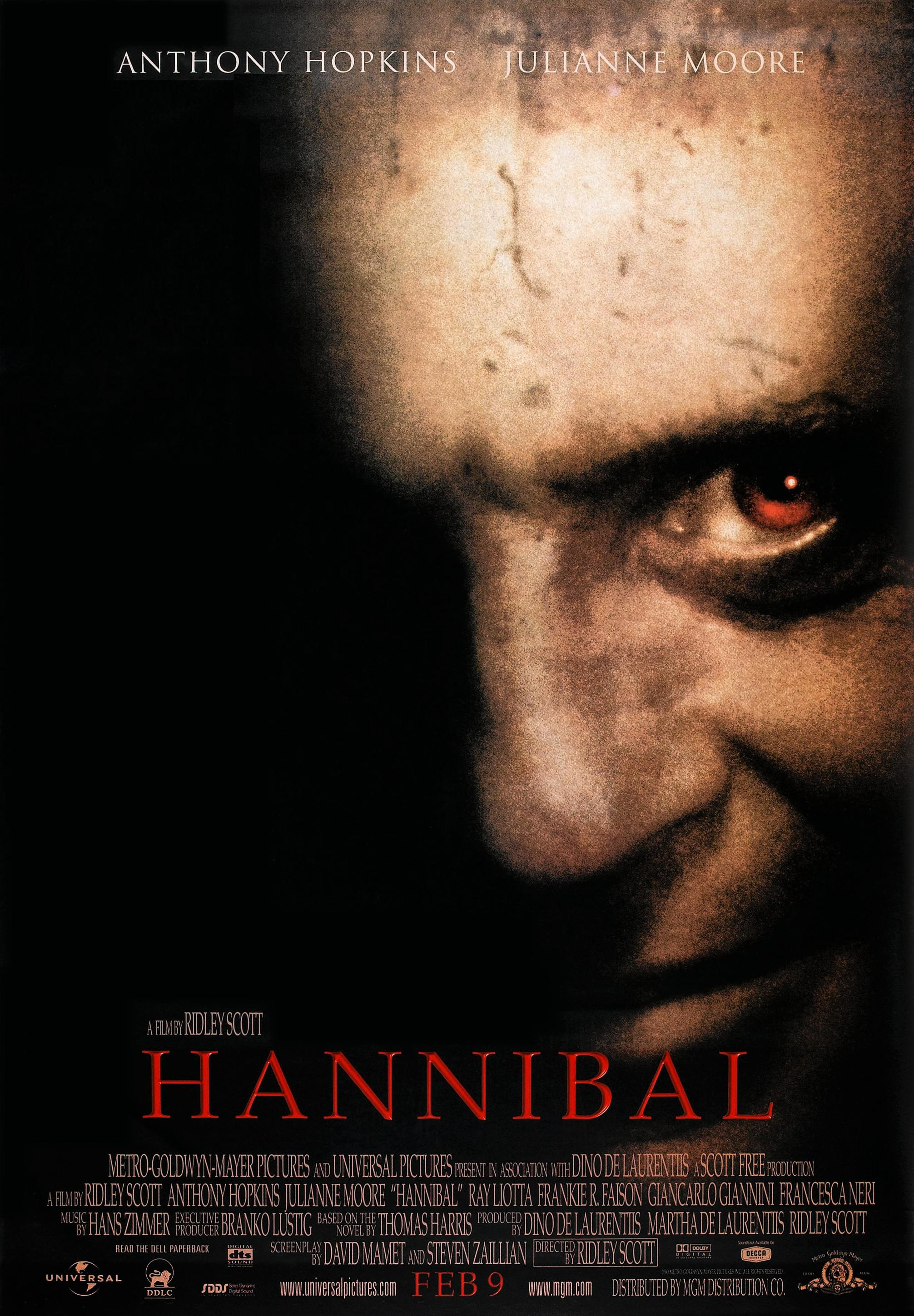 Image result for hannibal movie poster