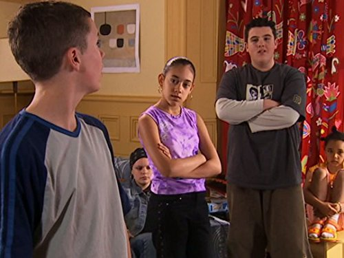 Ben Hanson, Montanna Thompson, and Ciaran Joyce in The Story of Tracy Beaker (2002)